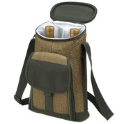 Picnic at Ascot - Wine & Cheese Satchel-style Cooler