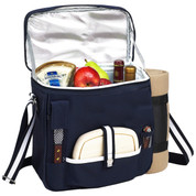 Picnic at Ascot - Wine & Cheese Cooler Tote