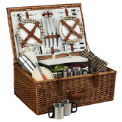 Picnic at Ascot - Dorset Basket for 4 w/ Coffee Service