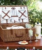Picnic at Ascot - Dorset Basket for 4