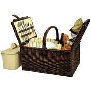 Picnic at Ascot - Buckingham Picnic Basket for 4