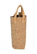 Cork Tote Single Bottle Bag