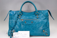 BALENCIAGA Lagon/ Lagoon Giant 12 City Rose Gold Hardware