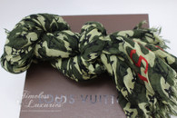 LOUIS VUITTON Limited Ed. Monogramouflage Cashmere/ Silk Stole *New*