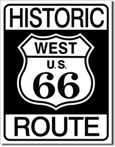 Historic R66 Tin Sign Art