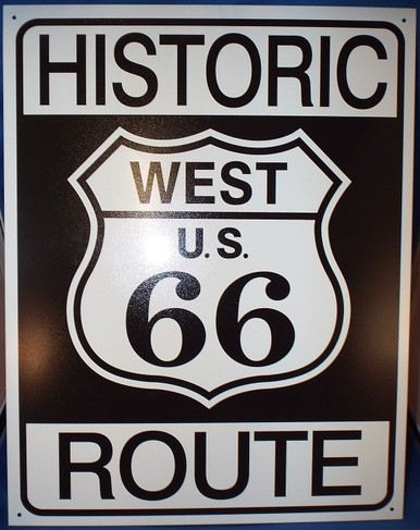 Historic R66 Tin Sign Photo