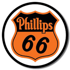 Phillips 66 Tin Sign Art