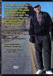 The Angel Delgadillo Story Route 66 DVD back