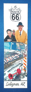 Mr. Route 66 Angel Delgadillo and Family Bookmark on Artist Canvas