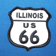 Illinois Route US 66 Patch