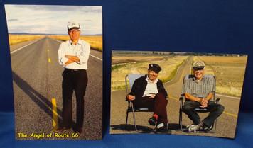 Angel and Juan Delgadillo Route 66 Postcards