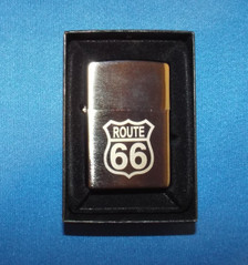 Route 66 Zippo Lighter in Box