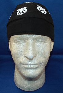 front of Get Your Kicks Skull Cap