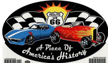 A Piece of America's History Sticker