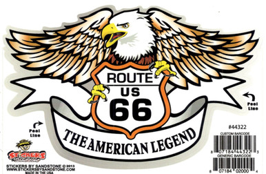 American Legend Eagle Sticker