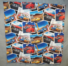 Classic Cars on Route 66 Bandana
