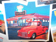 Truck at  Diner