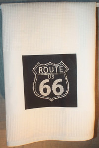 Route 66 Tea Towel Made in the USA