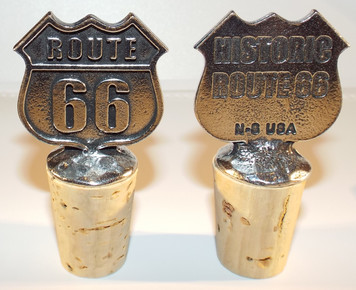 Route 66 Bottle Stopper Made in the USA