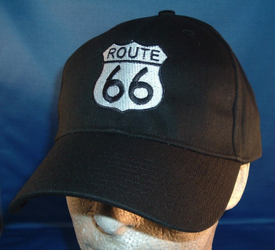 Route 66 Baseball Cap Made in USA