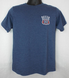 Route 66 Lyrics T-Shirt Front