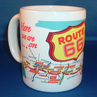 Route 66 Coffee Mug made in the USA