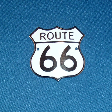 Route 66 Hiking Staff Medallion