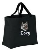 Akita Personalized Tote Bag