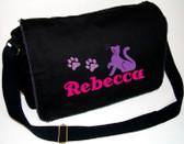Personalized CAT Diaper Bag