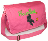 Personalized GORILLA Diaper Bag Font shown on diaper bag is JOSEPHINE