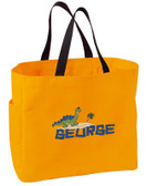 Kid's Brontosaurus Essential Tote Bag Personalized  - Embroidered