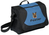 German Shepherd Messenger Bag