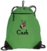 German Shepherd Cinch Bag