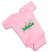 Personalized Daisies Baby Onesie - Size:6 Months