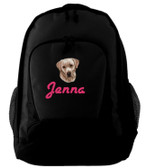 Yellow Labrador Retriever Backpack