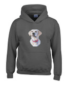 Yellow Labrador Hooded Sweatshirt