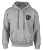 Black Labrador Hooded Sweatshirt