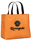 Black Labrador Retriever Tote-Bag