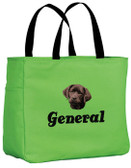 Chocolate Labrador Retriever Tote-Bag