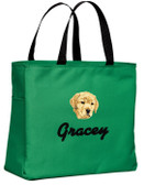 Yellow Labrador Retriever Tote-Bag