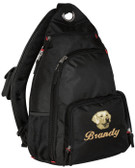 Yellow Labrador Retriever Sling Pack