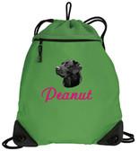 Black Labrador Retriever Cinch Bag
