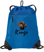 Chocolate Labrador Retriever Cinch Bag