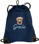 Yellow Labrador Retriever Cinch Bag