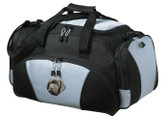 Black Labrador Retriever Duffel Bag