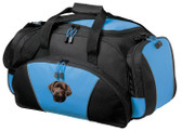 Chocolate Labrador Retriever Duffel Bag