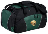 Yellow Labrador Retriever Duffel Bag