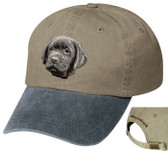 Black Labrador Retriever Cap