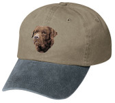 Chocolate Labrador Retriever Cap