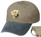 Yellow Labrador Retriever Cap